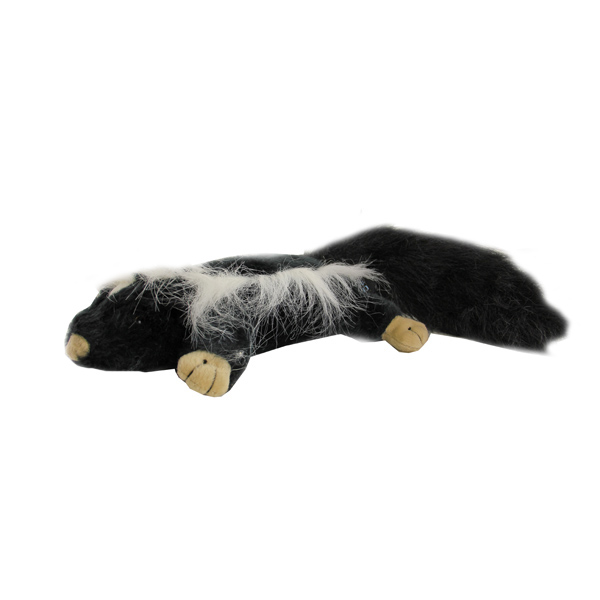 GoDog Forest Friends Dog Toy - Skunk
