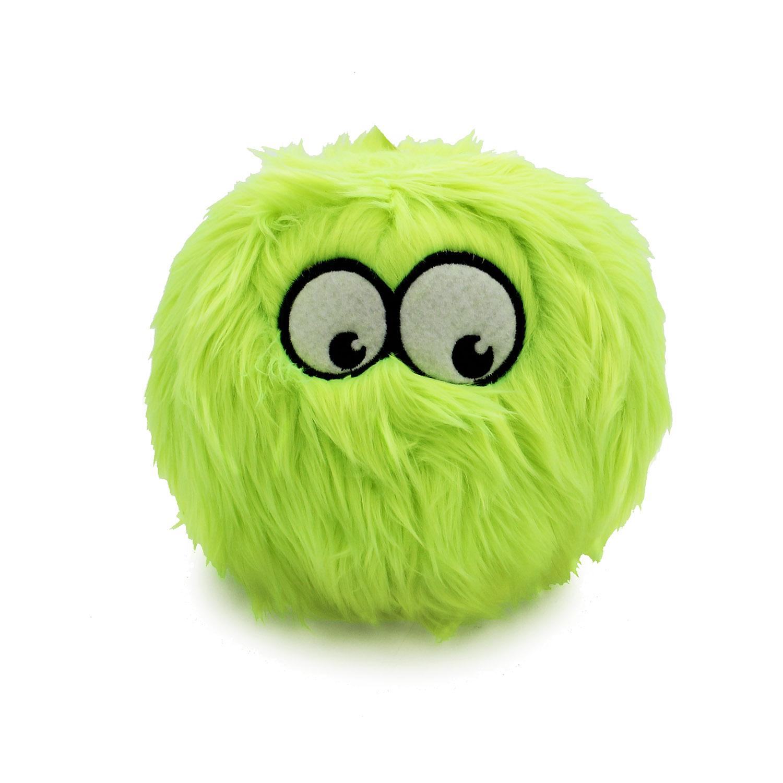 GoDog Furballz Dog Toy - Lime