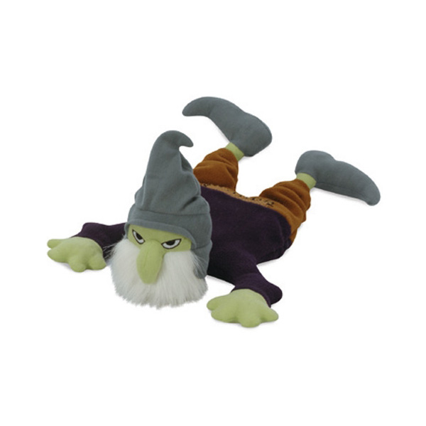 GoDog Halloween Bearded Gremlin Dog Toy