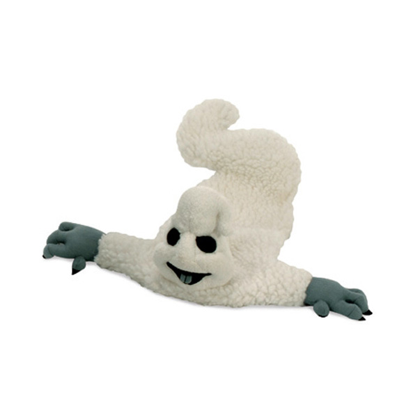 GoDog Halloween Crinkle Ghost Dog Toy
