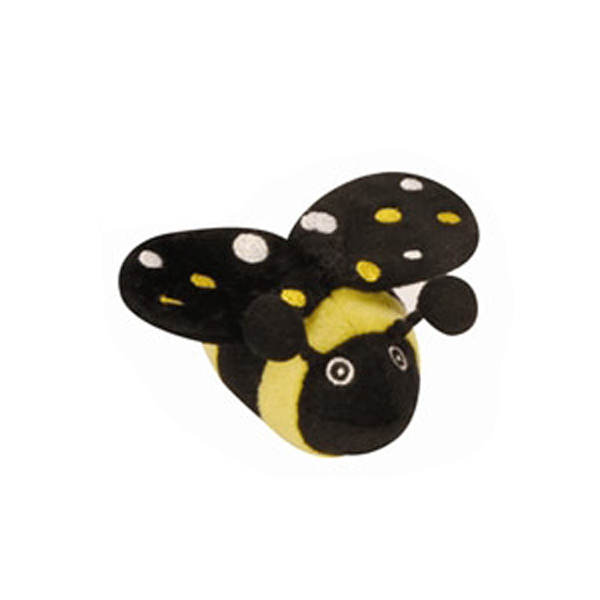 GoDog Just for Me! Tiny Bug Toys with Chew Guard - Bee