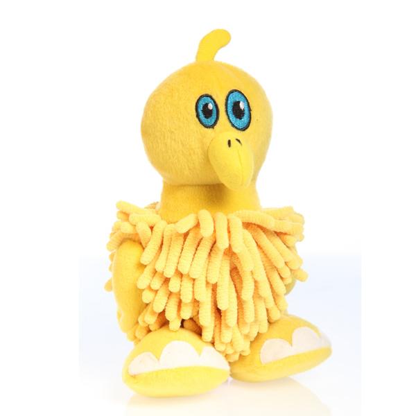 GoDog Mopz Dog Toy - Yellow Bird