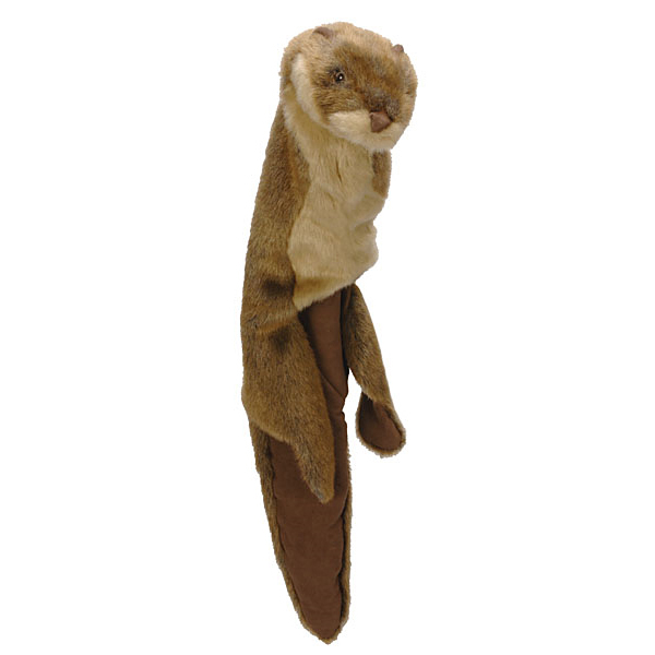 GoDog Roadkill Dog Toy - Otter