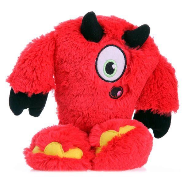 GoDog Yeti with Chew Guard Dog Toy - Devil