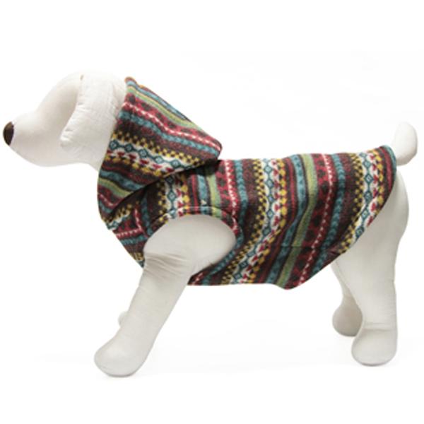 Gooby Designer Dog Sweater Hoodie - Green