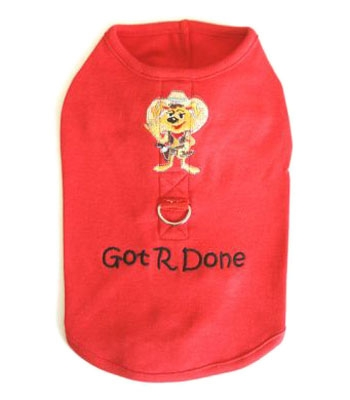 Got R Done Harness Shirt - Red