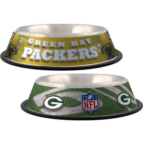 Green Bay Packers Dog Bowl