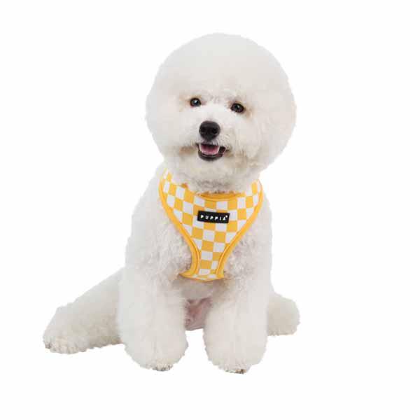 Grand Prix Dog Harness by Puppia - Yellow
