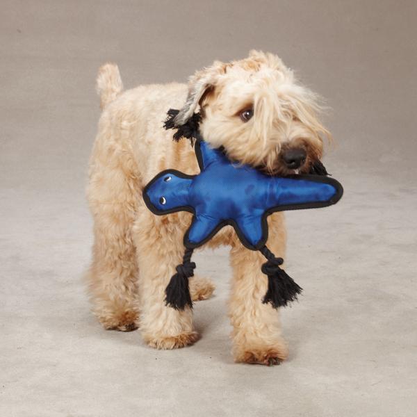 Grriggles Burlies Tough Dog Toy - Lizard