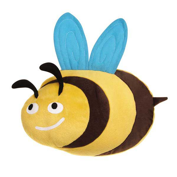 Grriggles Flutter Bugs Jumbo Dog Toy - Bee