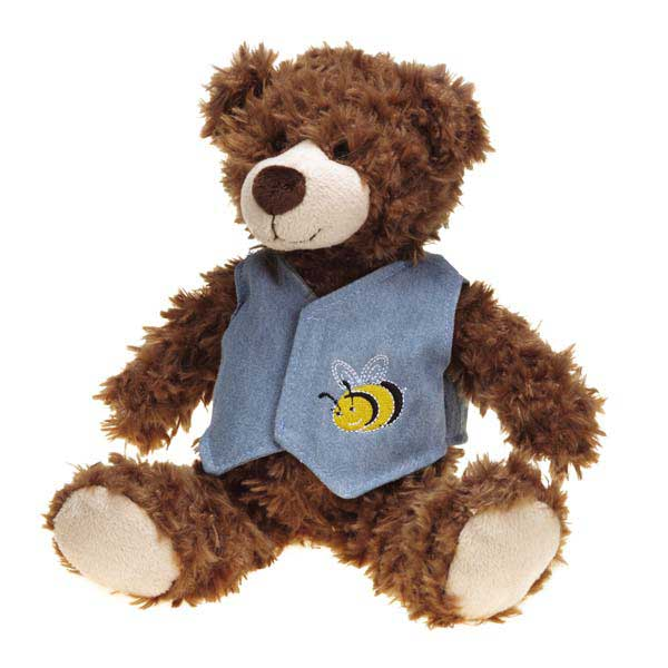 Grriggles Flutterbugs Bear Dog Toy - Boy
