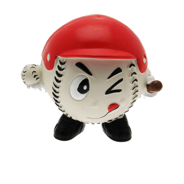 Grriggles Game Day Guy Dog Toy - Baseball