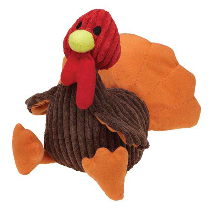 Grriggles Goofy Gobbler Turkey Dog Toy