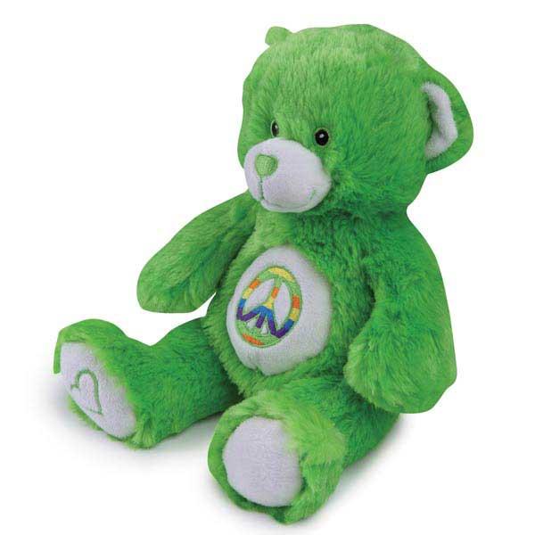 Grriggles Jelly Bean Bear Dog Toy - Green