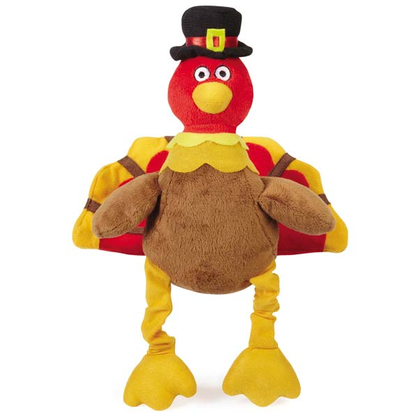Grriggles Pilgrim Turkey Dog Toy - Pete