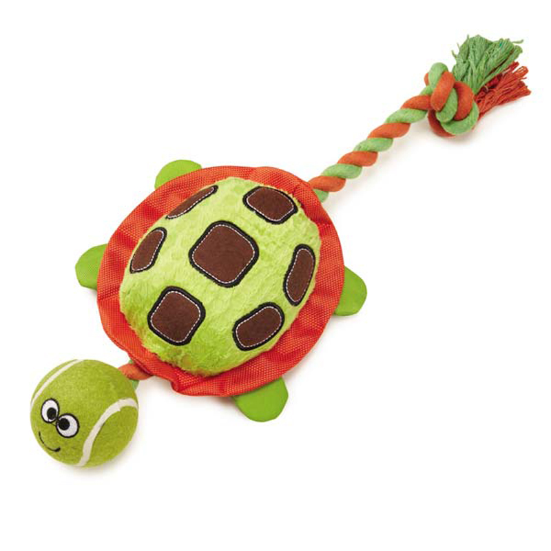Grriggles Puddle Pal Dog Toy - Turtle
