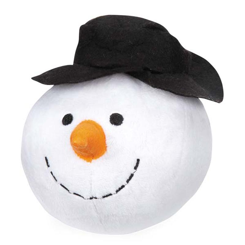 Grriggles Snowball Gang Dog Toy - Snowman