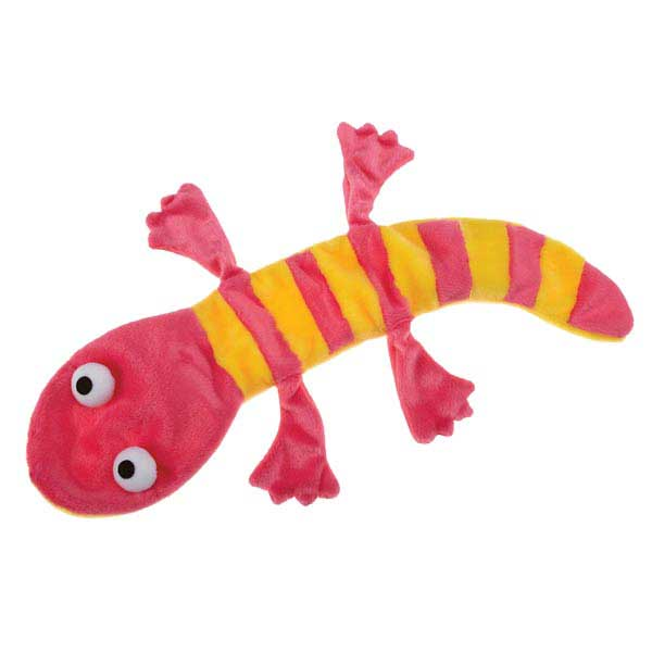 Grriggles Unstuffy Lizards Dog Toy - Pink