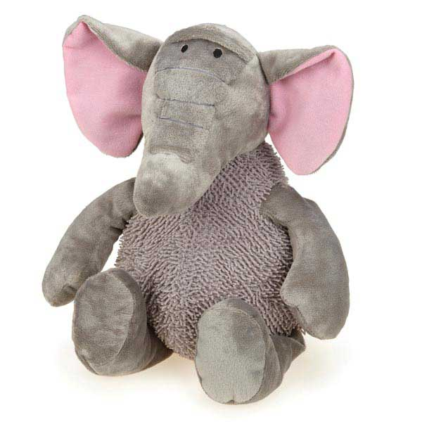 Grriggles Wild Hearts Dog Toy - Elephant