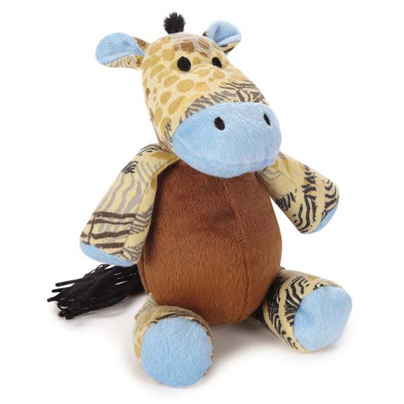 Wild Savannah Animal Dog Toy - Zebra