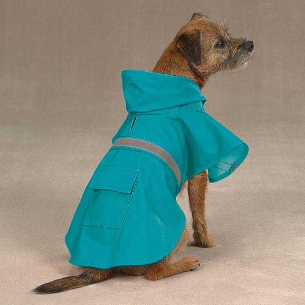 Guardian Gear Brite Dog Rain Jacket  - Bluebird