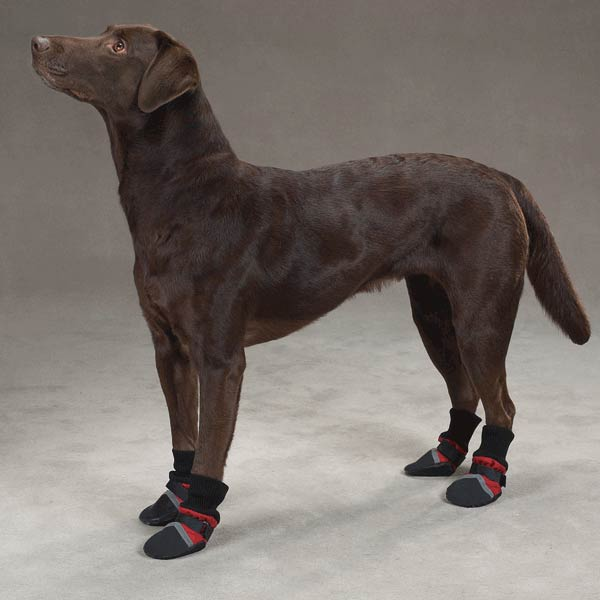 Guardian Gear Fleece Lined Dog Boots - Red