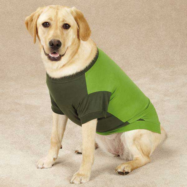 Guardian Gear Insect Shield Dog T-Shirt - Green