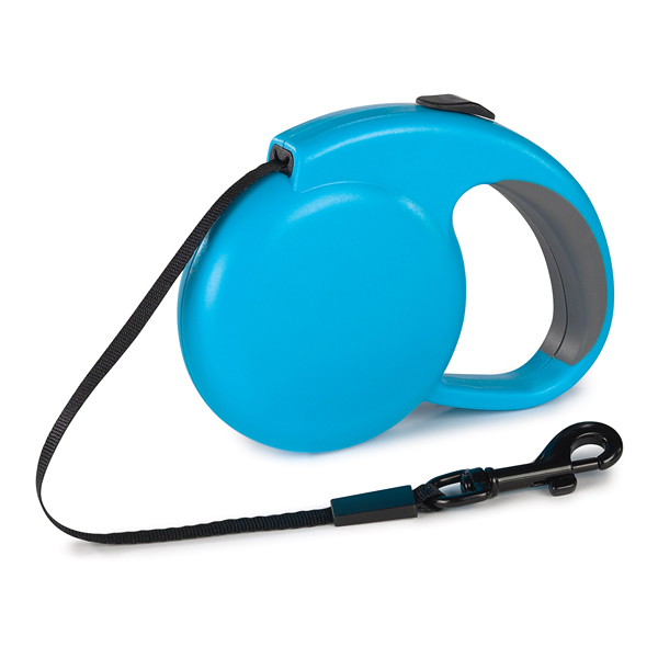 Guardian Gear Mini Retractable Belt Dog Lead - Blue