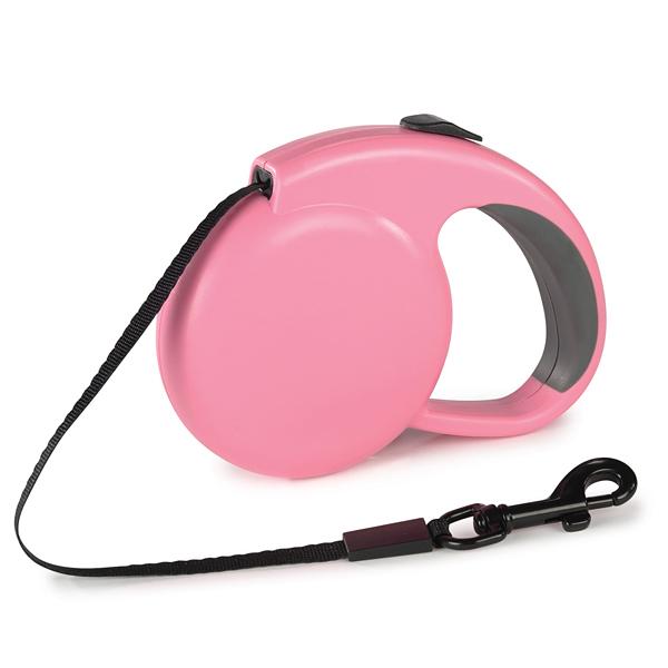 Guardian Gear Mini Retractable Belt Dog Lead - Pink