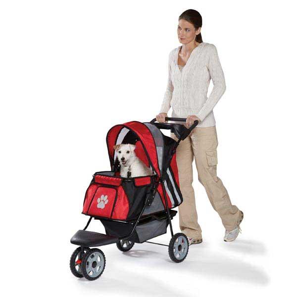 Guardian Gear Roadster II Dog Stroller - Red