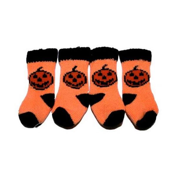 Halloween Pumpkin Dog Socks