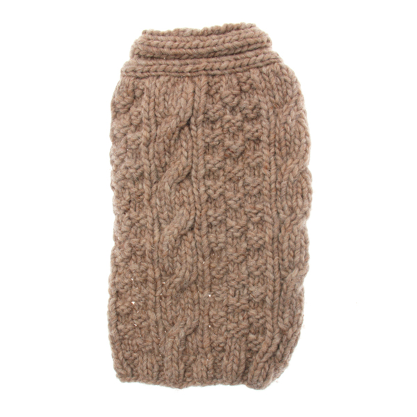 Handmade Ragg Wool Cable Shawl