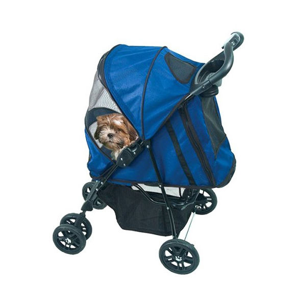 Happy Trails Dog Stroller - Cobalt Blue