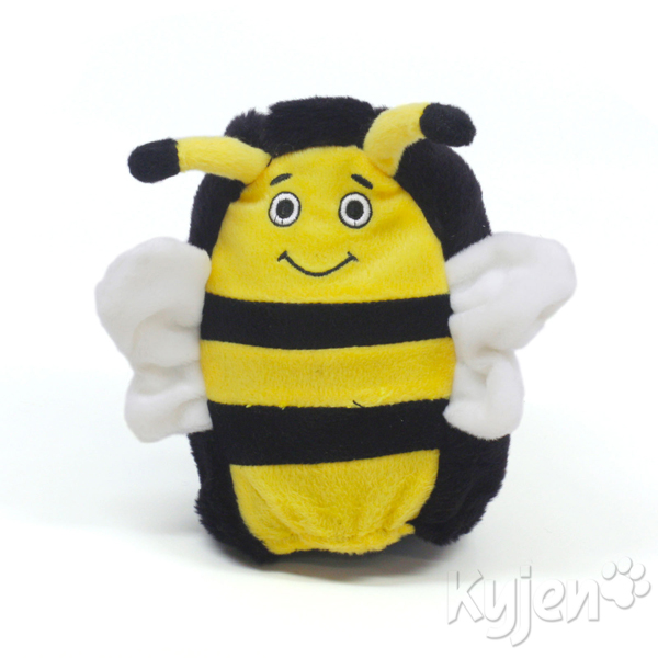 Hard Boiled Softies Dog Toy - Boris the Bee
