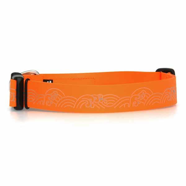 Headwater Dog Collar by RuffWear - Orange Sunset