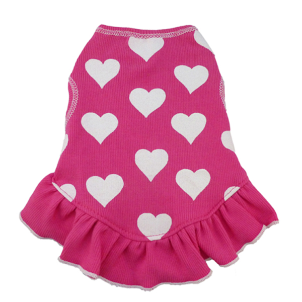 Hearts Dog Dress