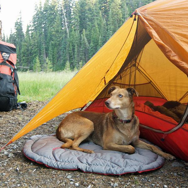 Highlands Dog Bed by RuffWear - Granite Gray