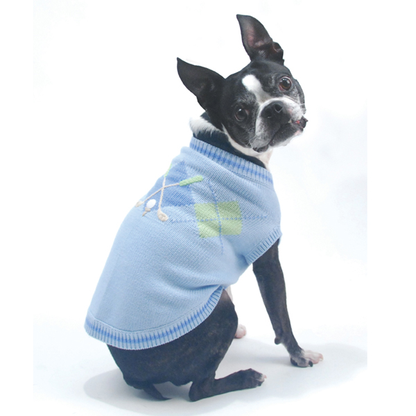 Hole in One Golf Dog Sweater by Oscar Newman