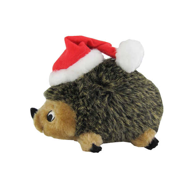 Holiday Hedgehog Dog Toy