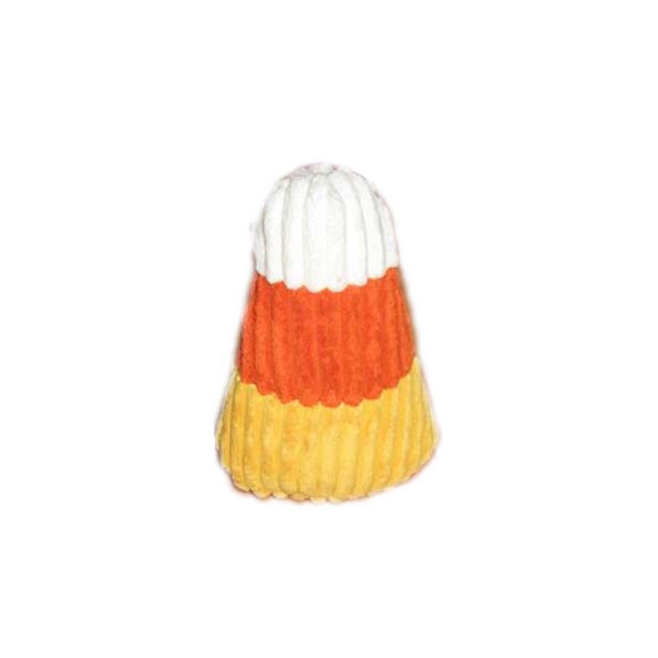 Hugglehounds Knottie Dog Toy - Candy Corn