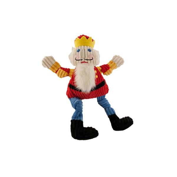 Hugglehounds Knottie Dog Toy - Nutty the Nutcracker