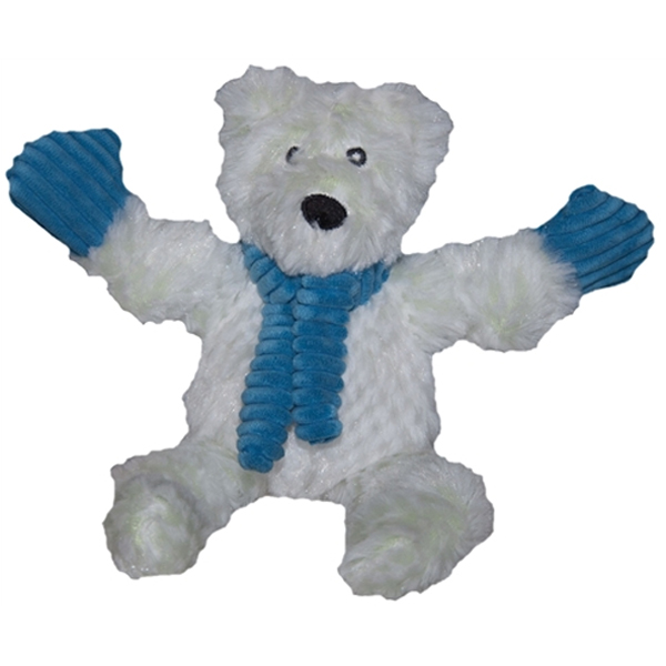 Hugglehounds Knottie Dog Toy - Polar Bear