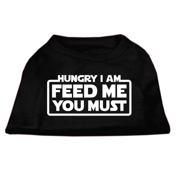 Hungry I am Dog T-Shirt - Black