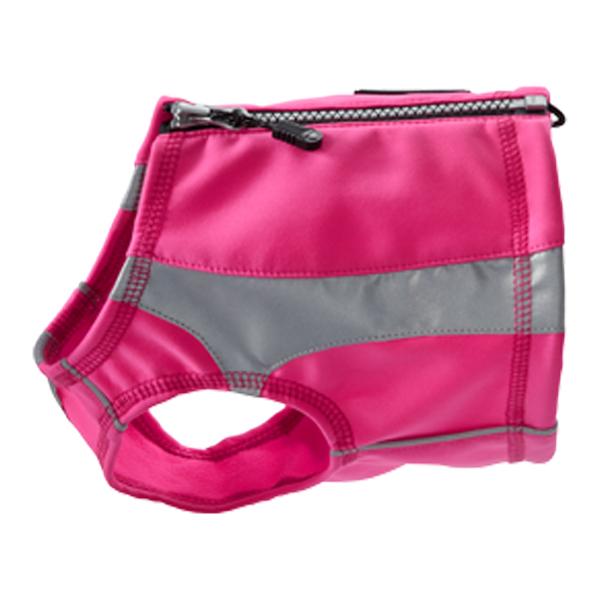 Hurtta Polar Visibility Dog Vest - Pink