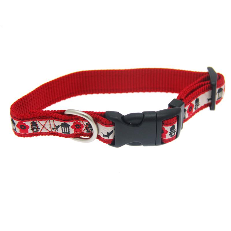 Hydrant Line-Up Dog Collar