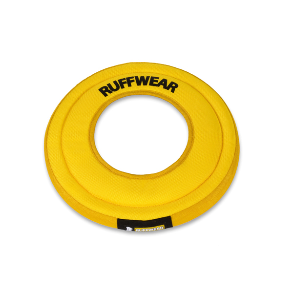 Hydro Plane Dog Frisbee by RuffWear - Dandelion Yellow