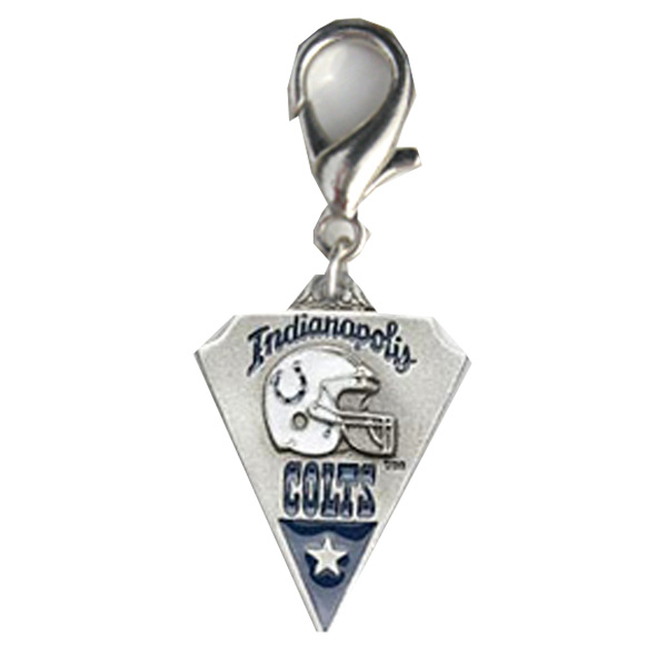 Indianapolis Colts Pennant Dog Collar Charm