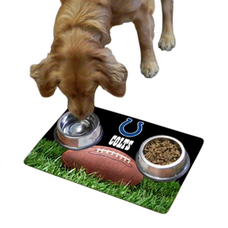 Indianapolis Colts Pet Bowl Mat