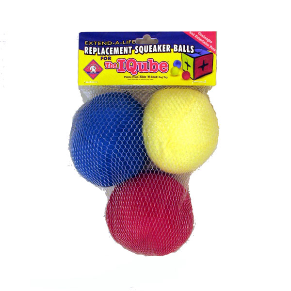 IQube Plush Dog Toy Ball Replacements
