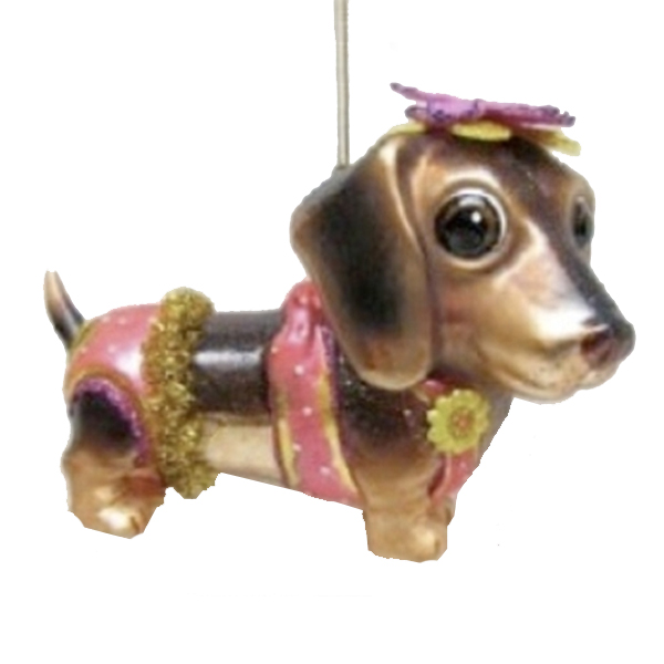 Jim Marvin Dachshund Ornament